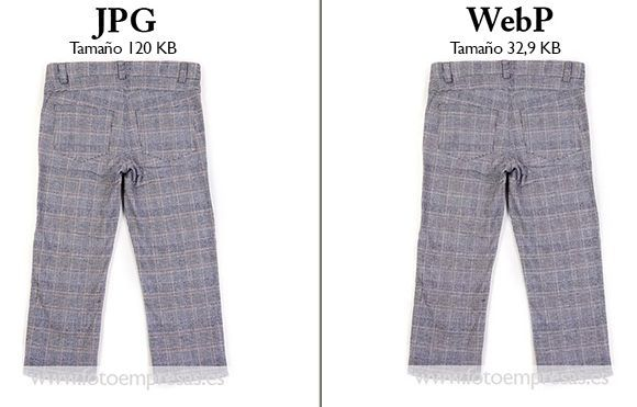 jpeg vs webp ejemplo pantalon