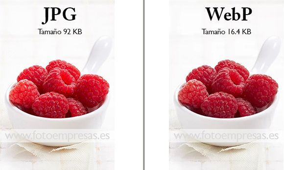 webp vs jpeg ejemplo pantalon