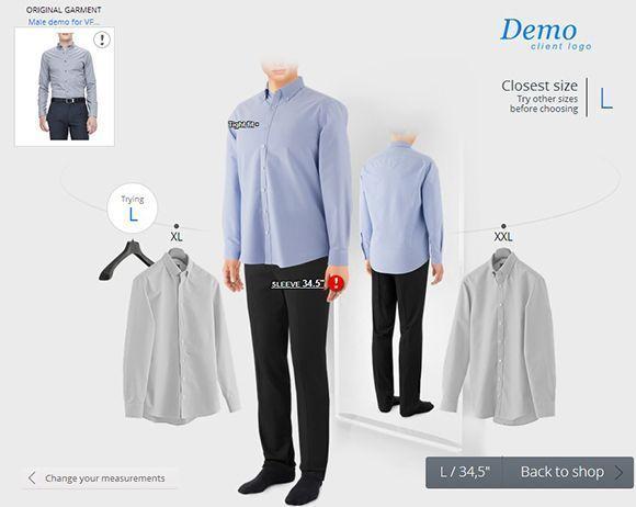 solución tallaje ropa
